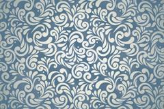 蓝灰色花纹背景矢量素材