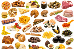 45种美食蔬菜水果高清图片下载