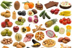 40种水果蔬菜美食高清图片