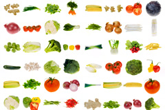 64种常见蔬菜图片齐乐娱乐下载