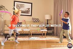 枪支安全广告《当心你的孩子玩大
