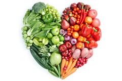 心形蔬菜水果高清图片下载