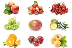 9种苹果樱桃等水果高清图片