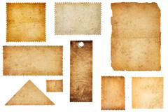 13款怀旧牛皮纸风格纸张素材图片