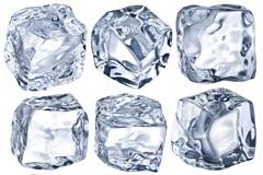 9款晶莹剔透的冰块图片素材