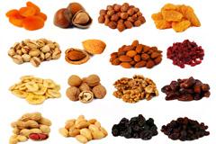 16种干果和果脯高清图片