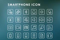 36款智能手机APP图标矢量素材