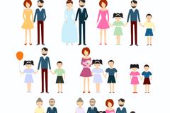 8款家庭图标矢量素材