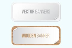 2款创意banner矢量素材