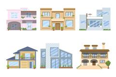 9款精美建筑设计矢量素材