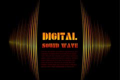 数字声波设计矢量素材