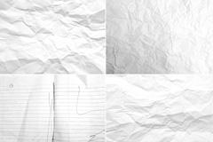 6张摺皱纸张纹理高清图片