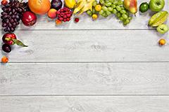 多种水果蔬菜组合高清背景图片