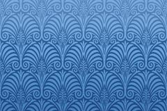 蓝色花纹背景设计矢量素材