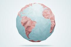 创意地球设计矢量素材