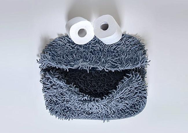 厕纸大眼睛