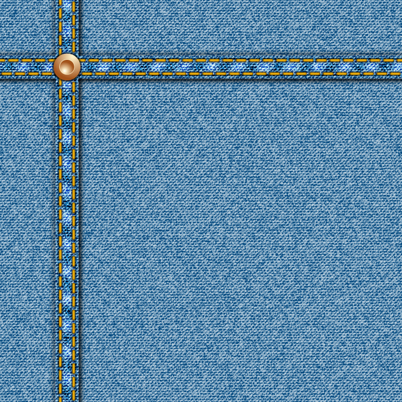 蓝色牛仔布料背景矢