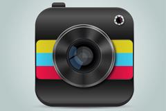 精美摄影app图标矢量素材