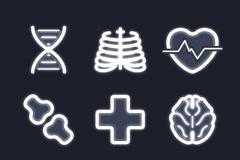9款创意医疗图标矢量素材