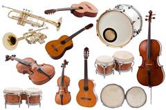 6种西洋乐器高清图片下载
