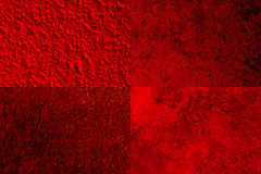 4张红色墙面背景图片下载