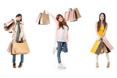 7个购物女孩高清图片下载