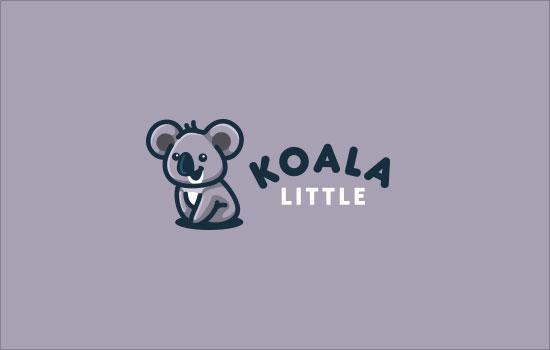 树袋熊标志设计