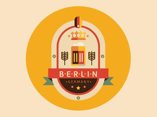 30款国外徽章风格logo设计欣赏
