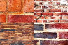 4款红砖墙背景图片