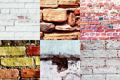 6款砖墙墙壁背景图片