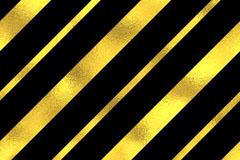 金色与黑色相间条纹警告线背景矢量素材