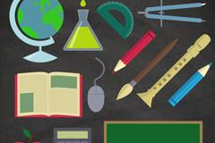 13款学习用品设计矢量素材