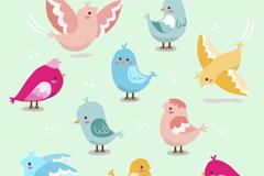 10款卡通小鸟设计乐虎娱乐