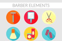 9款精致美发和护理图标矢量素材