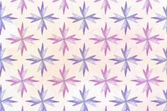 紫色冰晶花纹无缝背景矢量素材