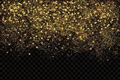 金色耀眼亮片背景矢量素材