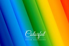 彩虹色斜纹无缝背景矢量素材