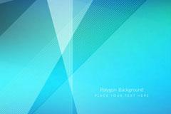 创意蓝色线条背景矢量素材