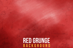红色垃圾效果背景矢量素材
