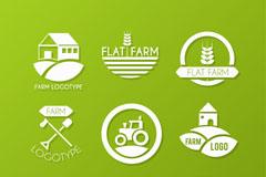 9款精致农场标志矢量素材