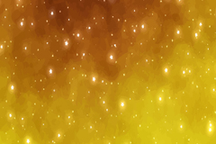创意金色星星光晕背景矢量素材