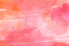 做旧粉色水彩涂鸦背景矢量素材