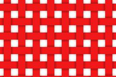 红色纸条编织方格背景矢量素材