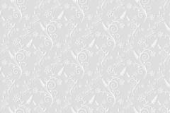 白色质感花纹背景矢量素材