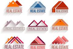 9款精致房地产标志矢量素材