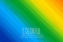 精美彩虹色斜纹背景矢量素材