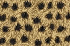非洲猎豹皮毛花纹背景矢量素材