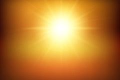 金色灿烂阳光矢量素材
