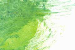绿色墨迹涂鸦背景矢量素材