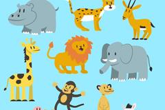 11款可爱野生动物矢量素材